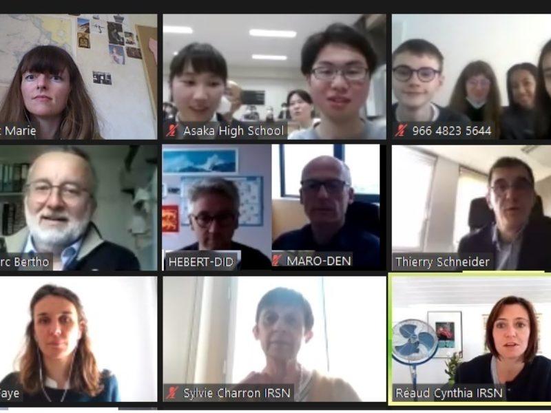 Rencontres Internationales Lycéennes de la Radioprotection