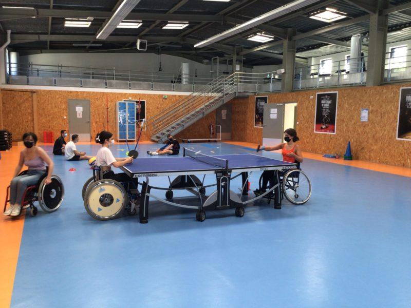 Ateliers de sensibilisation aux activités physiques adaptées